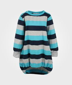 Pocketdress Marin/Grey/Turquoise