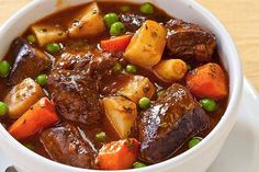 Crock Pot Country Beef Stew Recipe and other crock pot recipes Power Cooker Recipes, Pressure Cooking Recipes, Crockpot Recipes, Cubed Beef Recipes, Recipes With Beef Cubes, Tefal Cook4me Recipes, Stewing Beef Recipes, Tupperware Pressure Cooker Recipes, Slow Cooking
