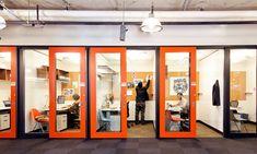 Salas privadas na sede da Microsoft