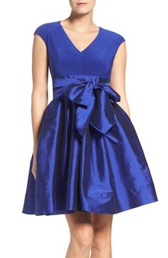 Stitch Fix Stylist- Never send me dresses like this one with the big ugly bow that draws attention to the waistline. Please No taffeta like material.