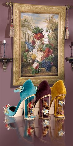 Gorgeous heels. Dolcè and Gabbana