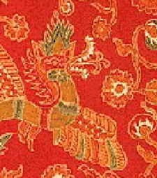 The motifs of the Solo design are related to the Hindu-Javanese culture: the Naga symbol of the water, the Burung symbol of the wind or upper world and the Lidah Api symbol of the fire. Surakarta, Javanese, Yogyakarta, Western Art, Chinoiserie, Symbols, Colours, Wallpaper, Fire