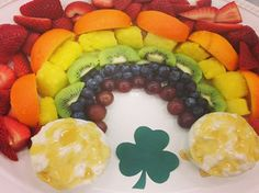 Another rainbow fruit tray