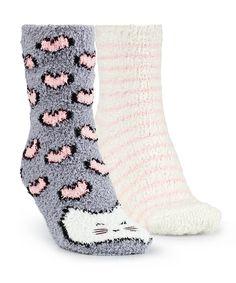 2 Pairs Cosy socks - All Nightwear - Nightwear