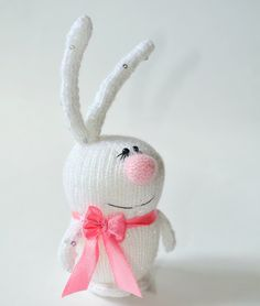 White Sequined Bunny doll - Amigurumi Toy Miniature Animals Rabbit - Stuffed Toys Rabbits plush  bunny toy white rabbit - christmas gift by MiracleStore on Etsy