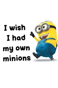 I seriously want two fat and small minions! I would have SO much fun!