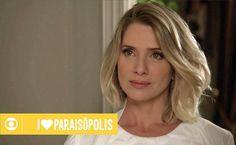 Cabelo de Soraya(Leticia Spiller) em I Love Paraisópolis - Maquiando