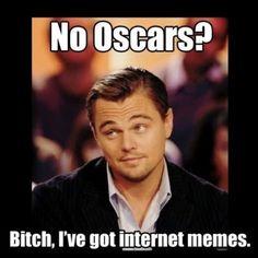 À l'international - Les meilleurs meme de Leonardo DiCaprio qui n'a toujours pas d'Oscar | HollywoodPQ.com
