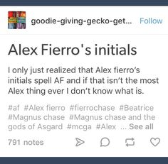Image result for magnus chase and magnus bane sass