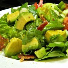 Bacon Avocado Salad