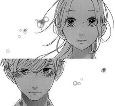 Manga strip hirunaka no ryuusei Manga Anime, Anime Guys, Anime Comics, Manga Drawing, Manga Art, Anime Monochrome, Funny Anime Pics, Daytime Shooting Star, Wie Zeichnet Man Manga