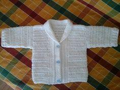 Crochet Baby Cardigan Free Pattern, Crochet Unicorn Pattern Free, Crochet Baby Jacket, Crochet Baby Bonnet, Crochet Bebe, Crochet For Boys, Crochet Baby Booties, Crochet Cardigan, Crochet Shawl