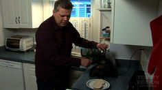 Tommy Edison, a blind film critic, demonstrates for his viewers how a blind person can cook alone.- Blindness - Wikipedia, the free encyclopedia