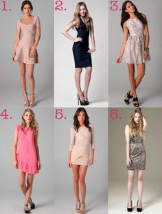 Like dresses 1,3,5