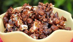 Como fazer pipoca doce de chocolate