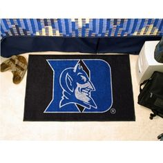 """Duke Blue Devils Starter Area Rug Floor Mat - 20"""" X 30"""""""