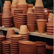 Clay Pot Craft Ideas - how to paint terra cotta #terracotta