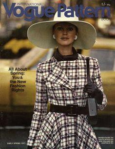 1970s Vogue Magazine Cover