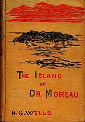 """The Island of Doctor Moreau is an 1896 science fiction novel written by H. G. Wells, who called the novel """"an exercise in youthful blasphemy."""" The text of the novel is the narration of Edward Prendick, a shipwrecked man rescued by a passing boat who is left on the island home of Doctor Moreau, who creates human-like beings from animals via vivisection. The novel deals with pain and cruelty, moral responsibility, human identity, and human interference with nature."""