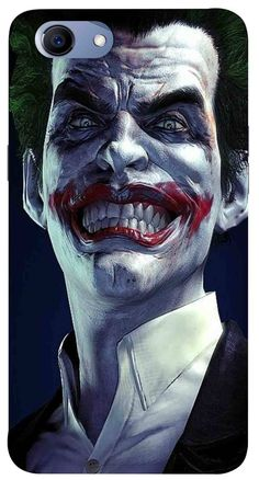 BATMAN ARKHAM ORIGINS ~ JOKER PORTRAIT ~ 24x36 VIDEO GAME POSTER Gone Bats Batty