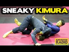 How to BAIT and finish someone with a KIMURA from Half Guard - YouTube
