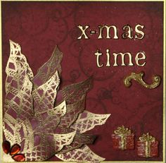 x-mas time, christmas card with katzelkraft rubber stamps, Patchys and Pardo Soft - created by Daniela Rogall