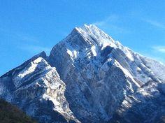 Monte Amariana innevato.