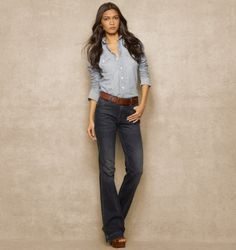 WESTERN DENIM SHIRT Ralph Lauren