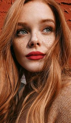 Freckles with gorgeous girl