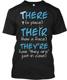 I should start wearing this as a public service campaign:)