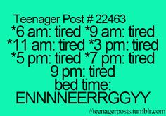 Yes... Says the person posting this because they can't sleep in the wee hours of the morning