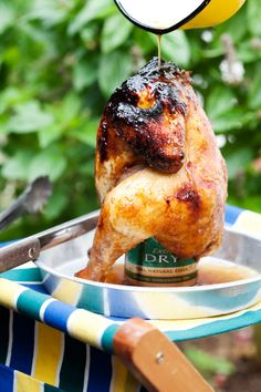 Cider-can chicken braai recipe South African Dishes, South African Recipes, Braai Recipes, Cooking Recipes, Weber Recipes, Can Chicken Recipes, Different Recipes, Family Meals, Food Inspiration