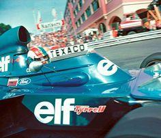 #6 François Cevert...Elf Team Tyrrell...Tyrrel 006...Motor Ford Cosworth DFV V8...GP Monaco 1973