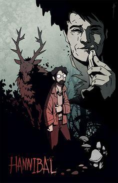 Hannibal Comic Cover by *JoannaJohnen on deviantART