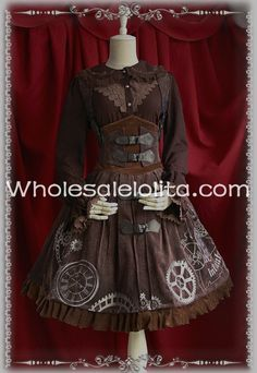 >> Click to Buy << New Steampunk Reverse Time Machine Corset JSK Lolita Dress Lolita Channel Ball Gown 4XL  For Sale Tea Party Dresses #Affiliate