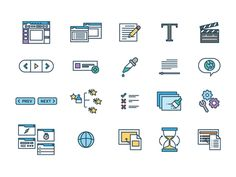 New Features Icons