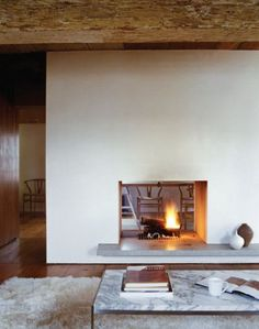double- sided fireplace   Dream
