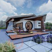 Casa parter 27 | Proiecte de case personalizate | Arhitect Gabriel Georgescu & Echipa
