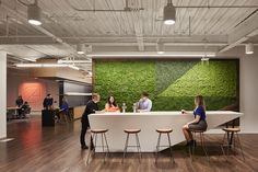 Space for socializing and rejuvenation. Plus biophilic design for inspiration.