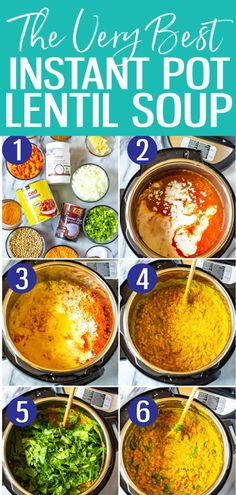Simple rules for knowing when to eat a snack You feel hungry between meals (even in the evening) Feeling hungry between meals is normal for some people. So do not be embarrassed to eat something. But do not eat if you are… Continue Reading → Vegetarian Lentil Soup, Curried Lentil Soup, Lentil Soup Recipes, Red Lentil Soup, Gourmet Recipes, Cooking Recipes, Healthy Recipes, Crockpot Recipes, All You Need Is
