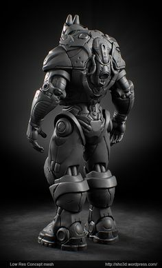 b45e0da3c585 mecha | David Letondor Humanoid Robot, Cyberpunk Character, Zbrush, Digital  Sculpting, Armor