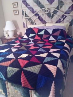 Granny Square Crochet Pattern Blanket Quilts