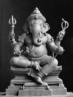Ganesha Drawing, Ganesha Painting, Ganesha Art, Krishna Art, Shri Ganesh Images, Ganesha Pictures, Lord Krishna Hd Wallpaper, Ganesh Wallpaper, Lotus Sculpture