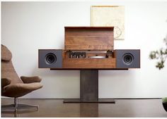 modern record console from symbol audio
