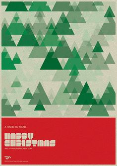 A hard to read Happy Christmas card by simoncpage, via Flickr