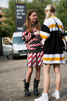 On the Street…..Stripes on Stripes, London