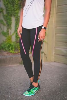3 Week Slim Down, nike running outfit, workout gear, nike activewear, cute activewear outfit // grace wainwright @asoutherndrawl