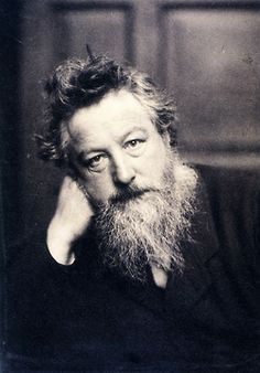 William Morris, 1887. Photo by Frederick Hollyer  A good way to rid one's self of a sense of discomfort is to do something. That uneasy, dissatisfied feeling is actual force vibrating out of order; it may be turned to practical account by giving proper expression to its creative character. William Morris