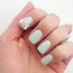 Mint green! So perf