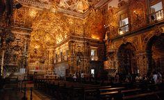 Interior da Igreja e Convento de São Francisco, Salvador (BA)